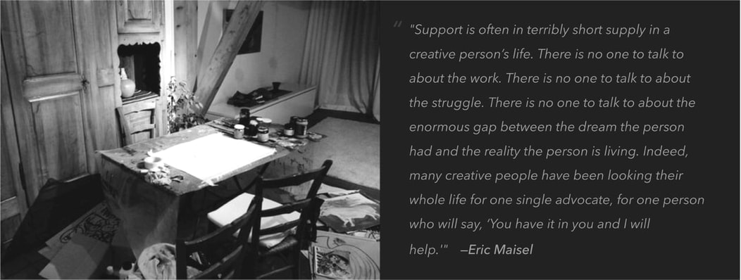 Coaching for Creatives - artist-support